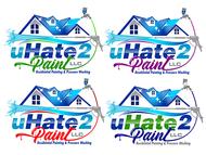 uHate2Paint LLC Logo - Entry #166