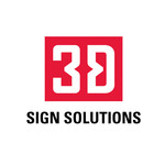 3D Sign Solutions Logo - Entry #128