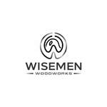 Wisemen Woodworks Logo - Entry #85