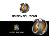 3D Sign Solutions Logo - Entry #27
