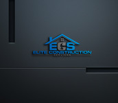 Elite Construction Services or ECS Logo - Entry #93