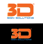 3D Sign Solutions Logo - Entry #65