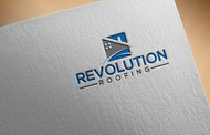 Revolution Roofing Logo - Entry #452