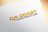 CA Coast Construction Logo - Entry #193
