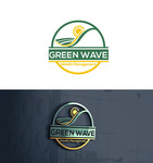 Green Wave Wealth Management Logo - Entry #114
