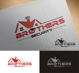 Brothers Security Logo - Entry #142