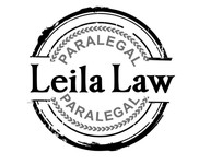 Leila Law Logo - Entry #81