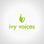 Logo for Ivy Voices - Entry #177