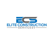 Elite Construction Services or ECS Logo - Entry #29