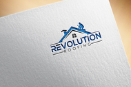 Revolution Roofing Logo - Entry #93