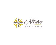 Allure Spa Nails Logo - Entry #1