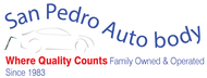 San Pedro Auto Body Logo - Entry #76