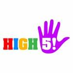 High 5! or High Five! Logo - Entry #95