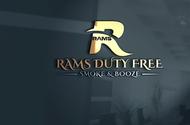 Rams Duty Free + Smoke & Booze Logo - Entry #74