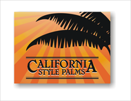 California Style Palms Logo - Entry #40