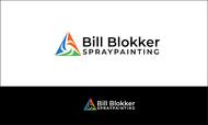 Bill Blokker Spraypainting Logo - Entry #146