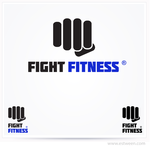 Fight Fitness Logo - Entry #102