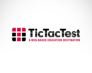 TicTacTest Logo - Entry #22