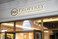 Property Wealth Management Logo - Entry #78