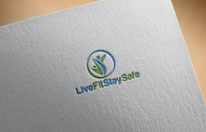 Live Fit Stay Safe Logo - Entry #51