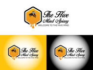 The Hive Mind Apiary Logo - Entry #143