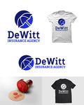 """DeWitt Insurance Agency"" or just ""DeWitt"" Logo - Entry #184"