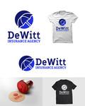 """""""DeWitt Insurance Agency"""" or just """"DeWitt"""" Logo - Entry #184"""