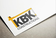 KBK constructions Logo - Entry #77