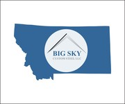 Big Sky Custom Steel LLC Logo - Entry #78