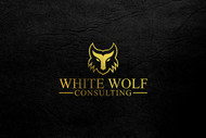 White Wolf Consulting (optional LLC) Logo - Entry #491