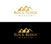 Rock Ridge Wealth Logo - Entry #411