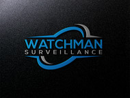 Watchman Surveillance Logo - Entry #186