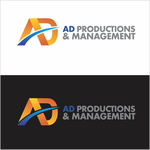 Corporate Logo Design 'AD Productions & Management' - Entry #143