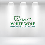White Wolf Consulting (optional LLC) Logo - Entry #257