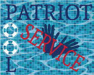 Patriot Pool Service Logo - Entry #199