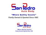 San Pedro Auto Body Logo - Entry #5