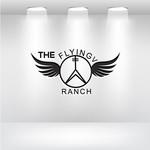 The Flying V Ranch Logo - Entry #9