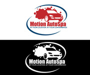 Motion AutoSpa Logo - Entry #287