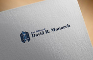 Law Offices of David R. Monarch Logo - Entry #9