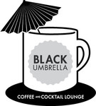 Black umbrella coffee & cocktail lounge Logo - Entry #83