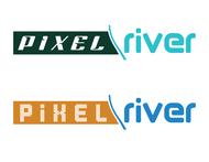 Pixel River Logo - Online Marketing Agency - Entry #41