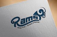 Rams Duty Free + Smoke & Booze Logo - Entry #172