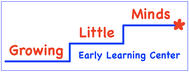 Growing Little Minds Early Learning Center or Growing Little Minds Logo - Entry #128