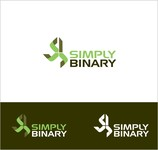 Simply Binary Logo - Entry #174
