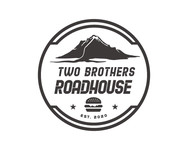 Two Brothers Roadhouse Logo - Entry #130