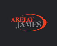 arejay james Logo - Entry #44