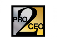 PRO2CEO Personal/Professional Development Company  Logo - Entry #99