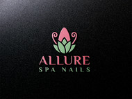 Allure Spa Nails Logo - Entry #50