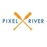 Pixel River Logo - Online Marketing Agency - Entry #198