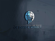 Law Offices of David R. Monarch Logo - Entry #154